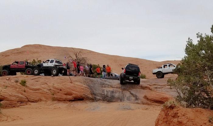 off roading trails Moab