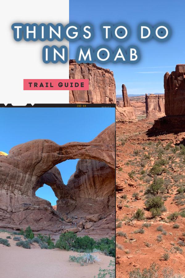 trail running Moab