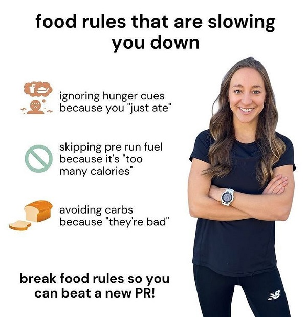 food rules that are slowing you down