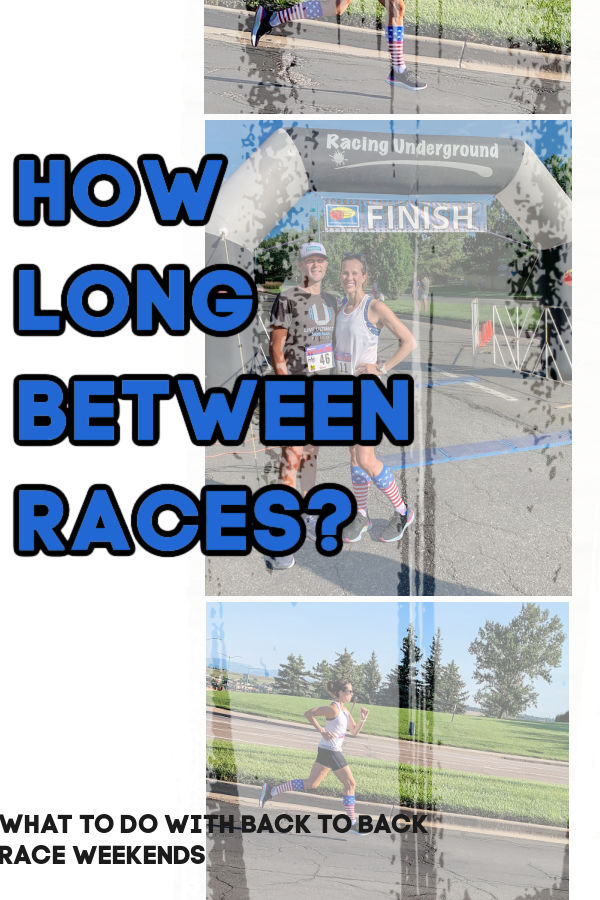 How Long Between Half Marathons