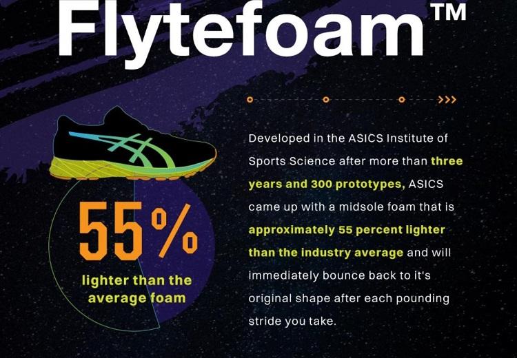 ASICS flytefoam | new balance vs asics